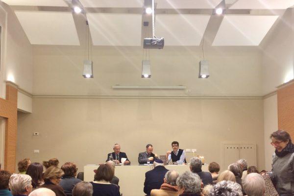 I reakltori dell'incontro in Claudiana su identità e comunità ebraiche in Italia