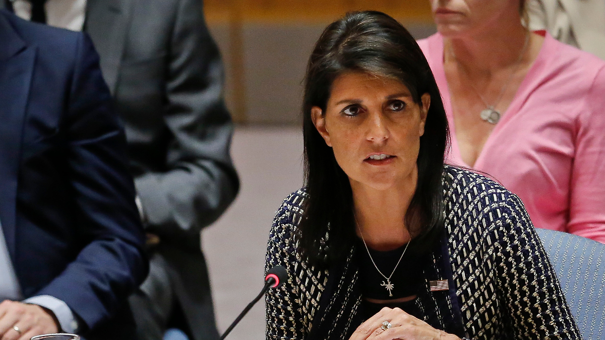 Nikki Haley, ambasciatrice Usa all'Onu