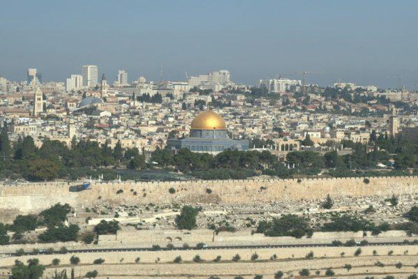Una visuale di Gerusalemme