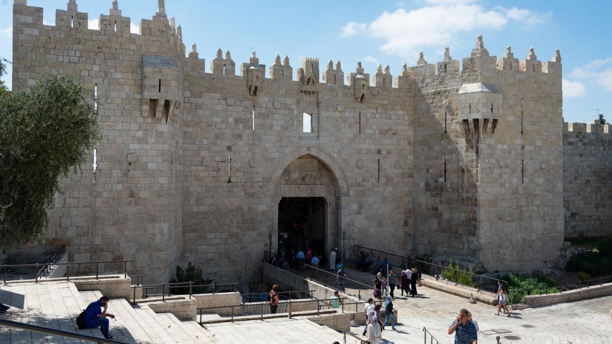 La Porta di damasco a Gerusalemme