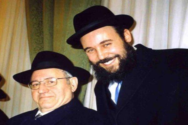 Rav Laras con Rav David Sciunnach