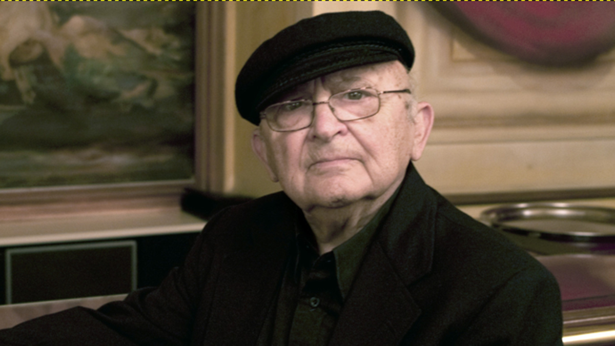Lo scrittore israeliano Aharon Appelfeld