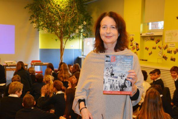 La giornalista Marina Gersony alla scuola milanese Bes per il giorno della memoria