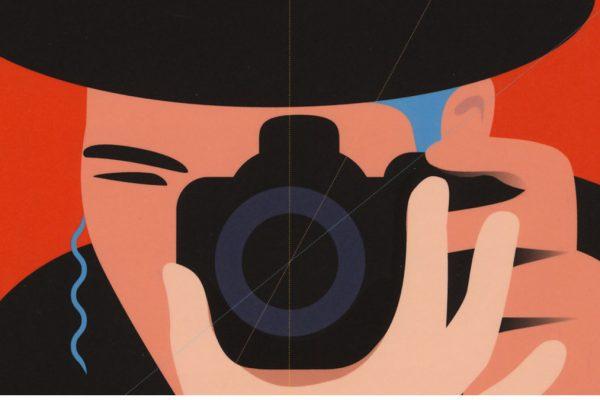 la copertina del libro 'Grandangolo' di Simone Somekh