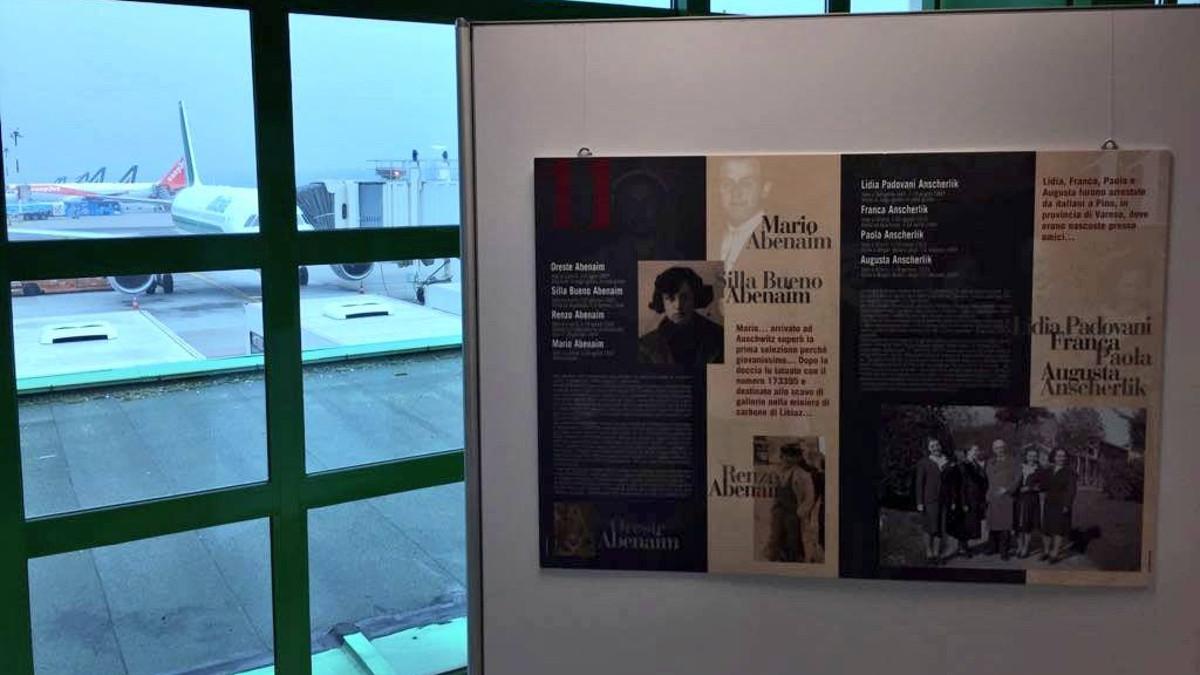 La mostra Binario 21 negli aeroporti di Linate e Malpensa