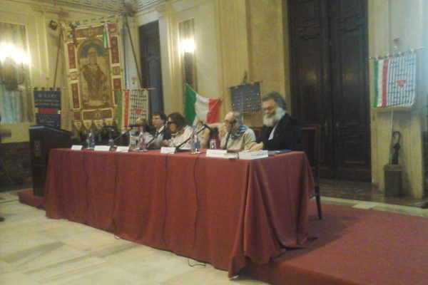 I relatori a Palazzo Marino