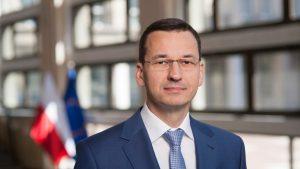 Il premier della Polonia Mateusz Morawiecki