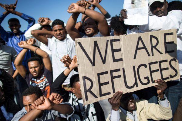 Migranti in Israele protestano contro il governo