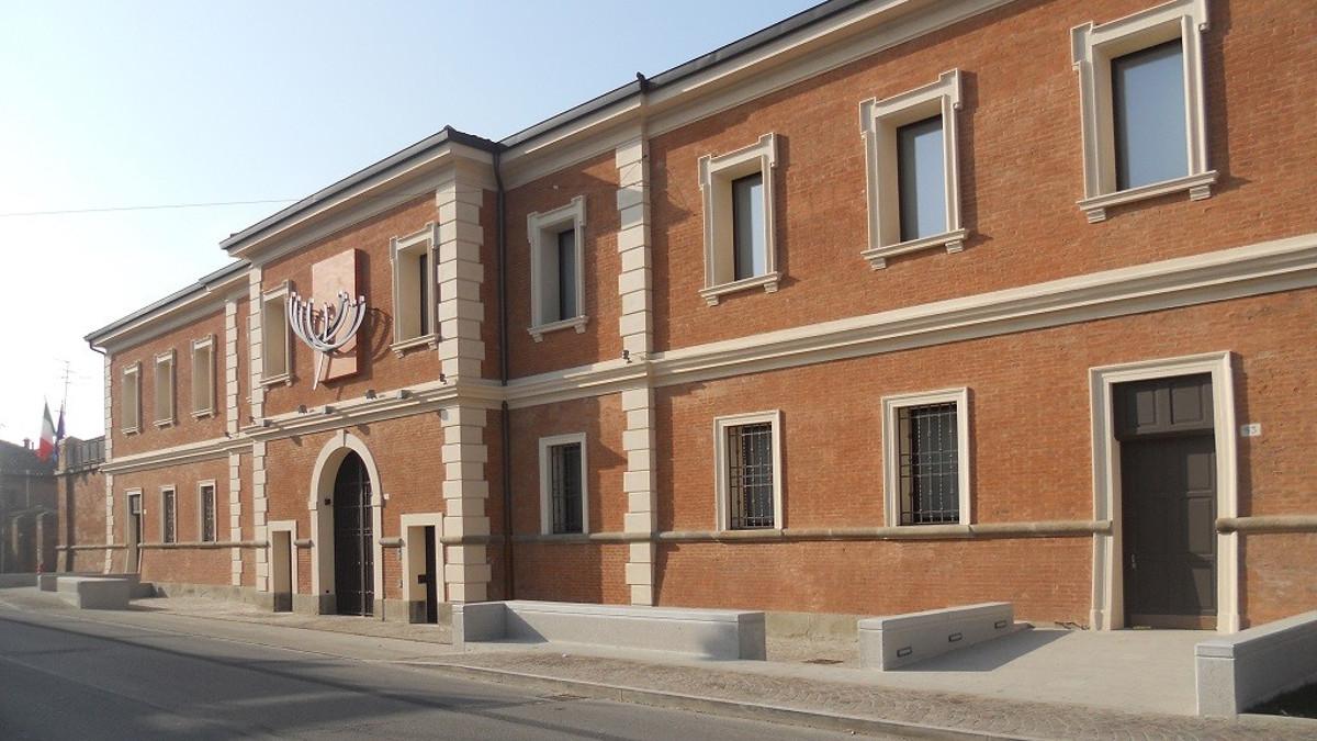 Il Meis di Ferrara, uno dei luoghi ebraici presenti in Italia