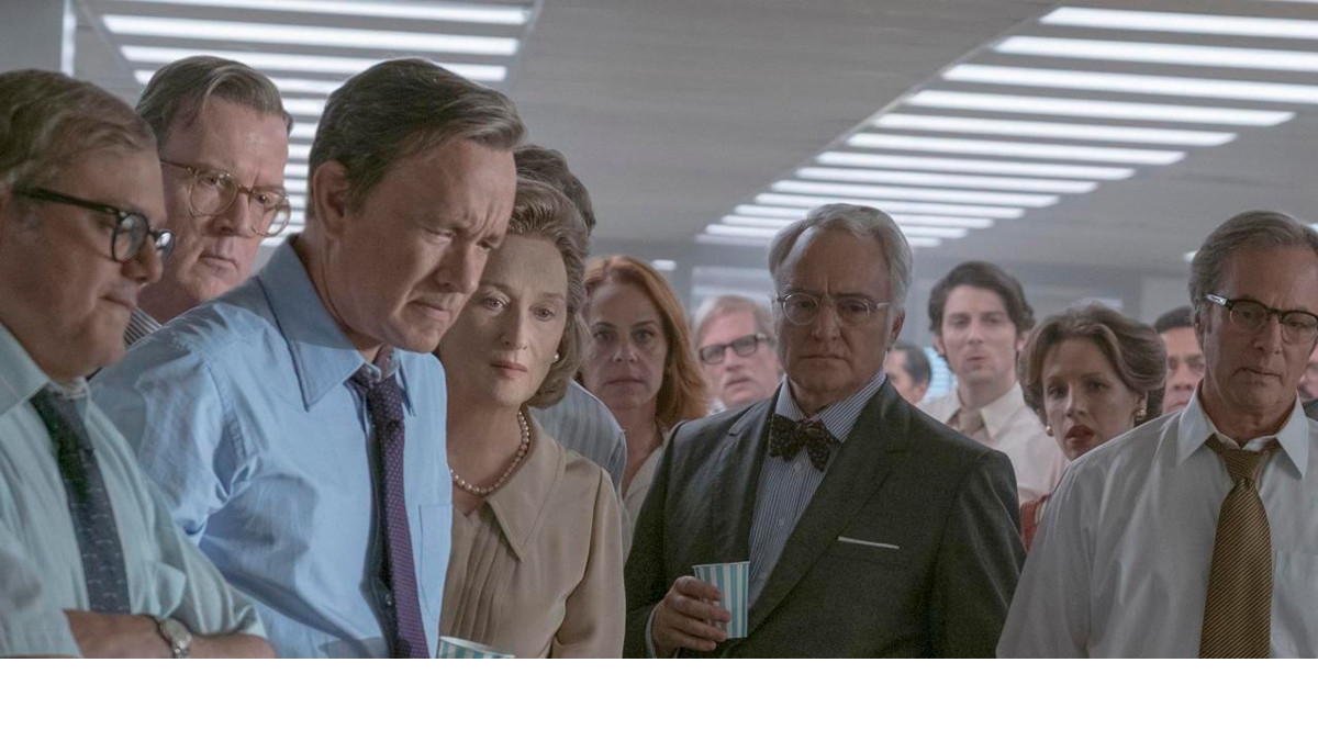 Una scena del film The post