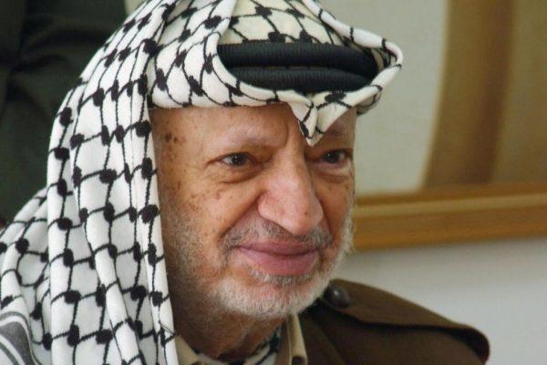 L'ex leader dell'Olp Yasser Arafat