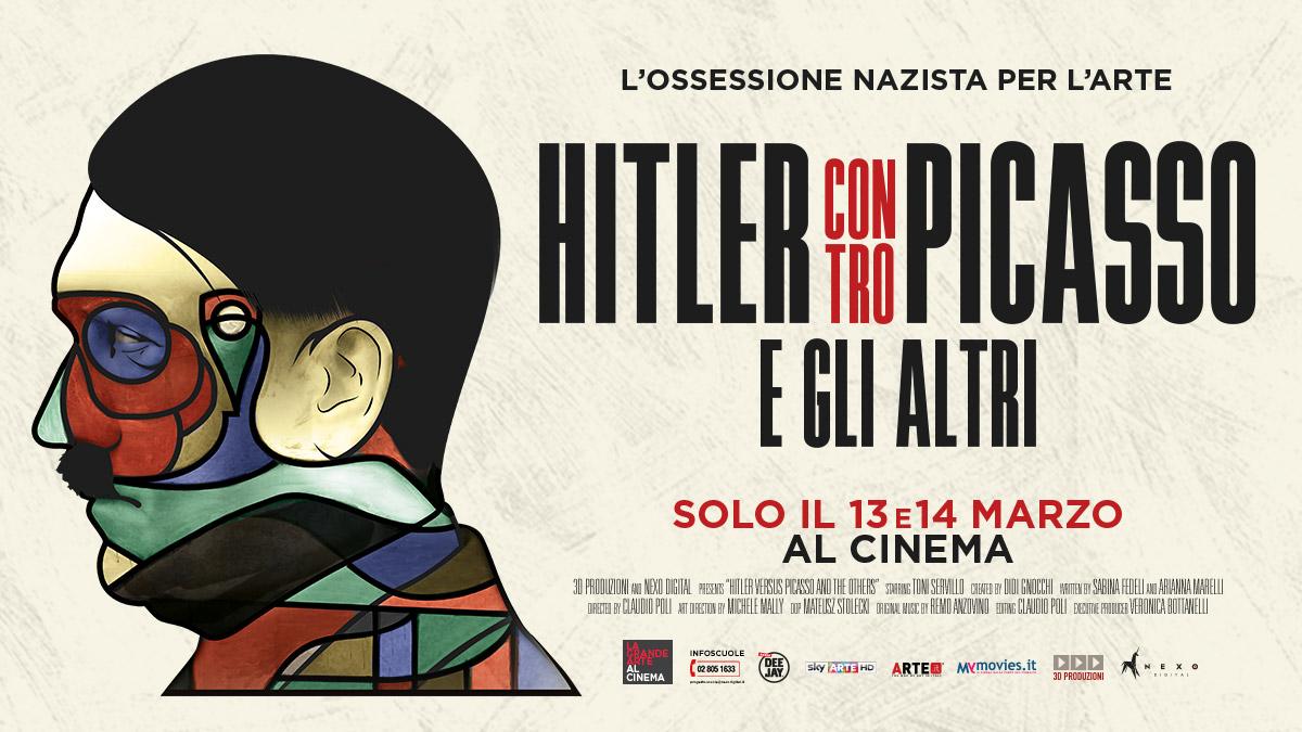 """La locandina di Hitler contro Picasso e gli altri"""""""