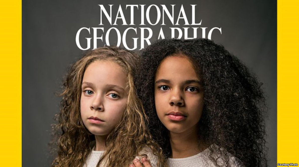 La cover del National Geographic dedicata alla questione della razza