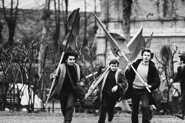Una manifestazione degli anni '70
