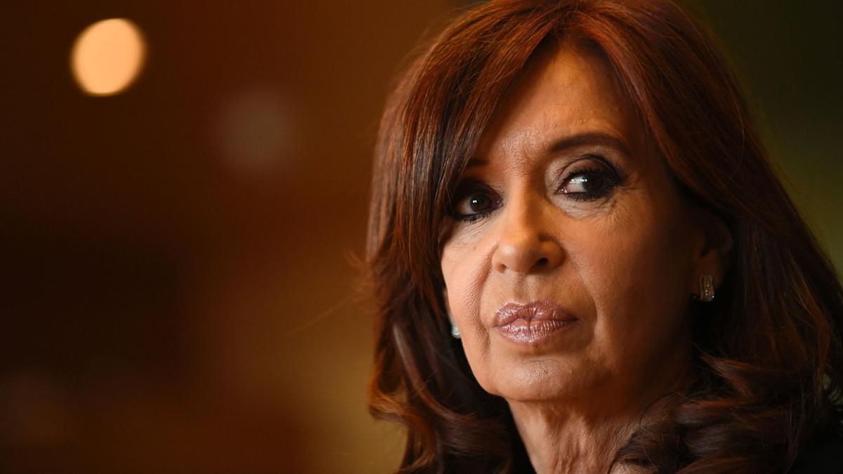 L'ex presidente argentino Cristina Kirchner