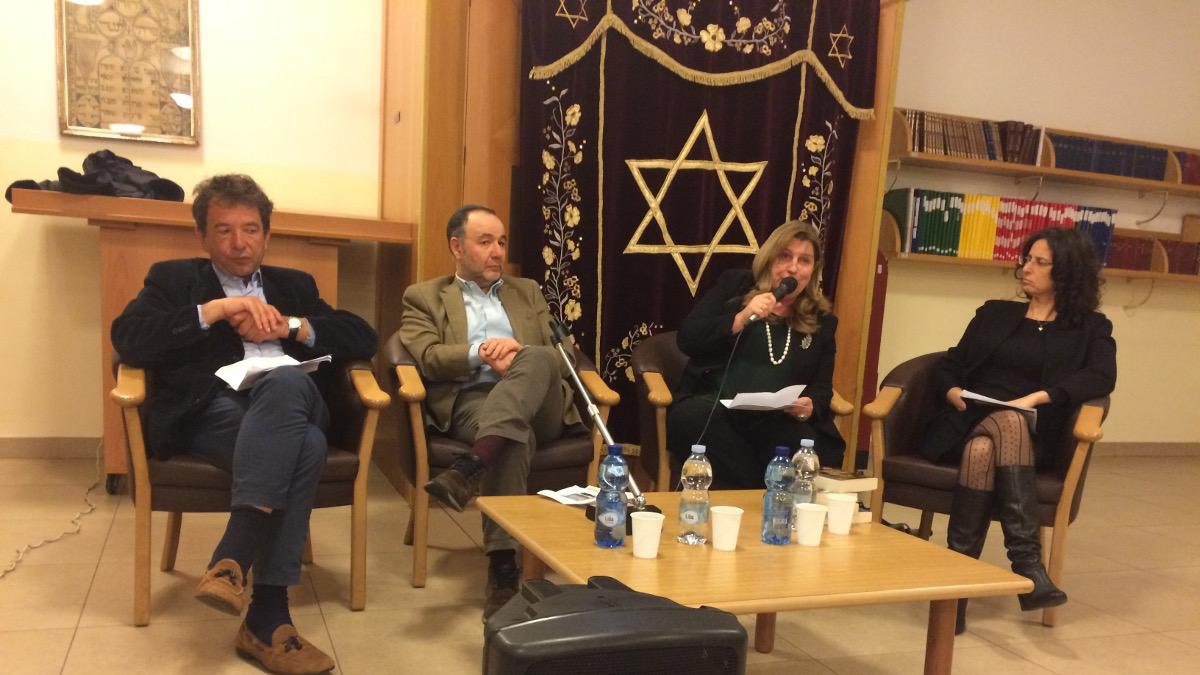 I relatori della sreta Kesher sugli scrittori israeliani