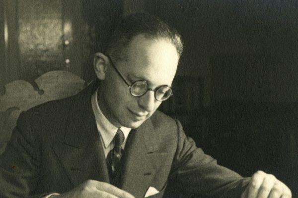 Il musicista Mario Castelnuovo-Tedesco