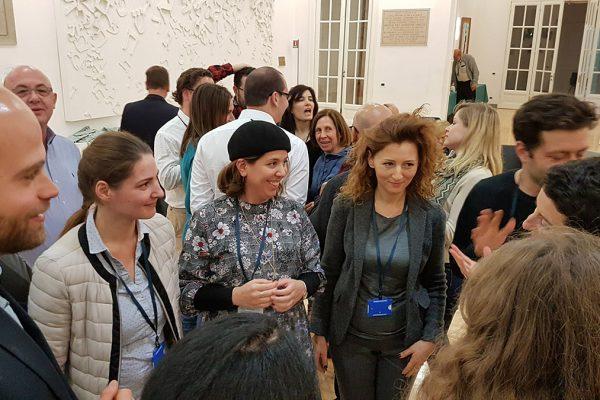 Alcuni partecipanti all'incontro europeo sui media ebraici