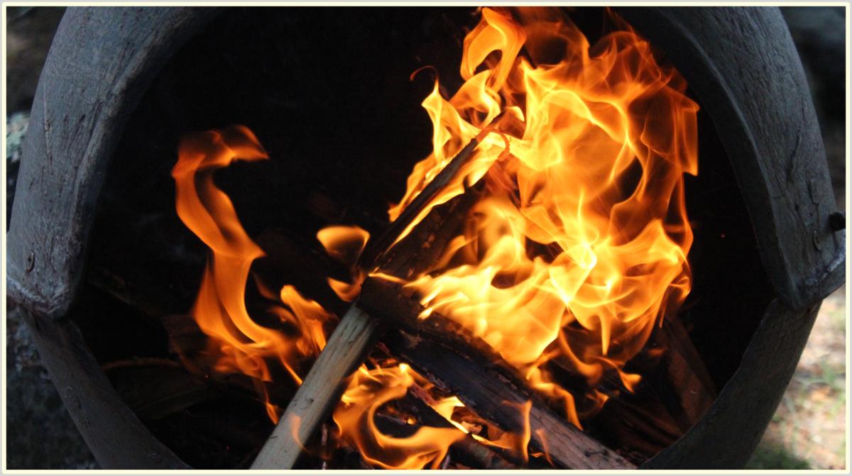 Il fuoco perpetruo di cui si parla nella parashat Tzav