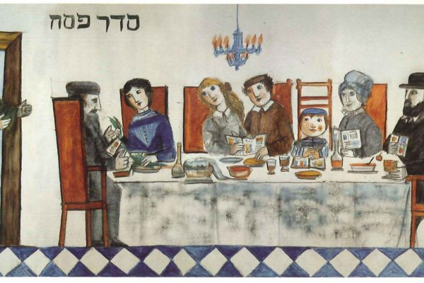 Il Seder di Pesach di Emanuele Luzzati