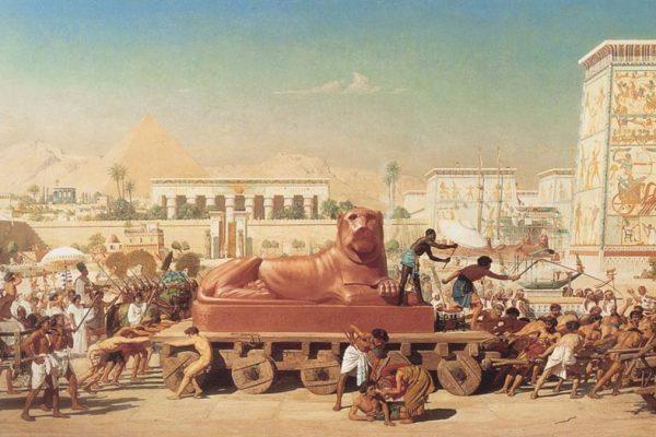 La schiavitù degli ebrei in Egitto