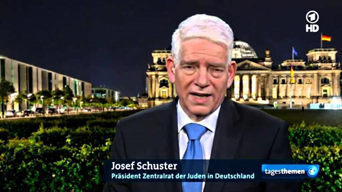 Josef Schuster, presidente dell'organizzazione degli ebrei di Germania