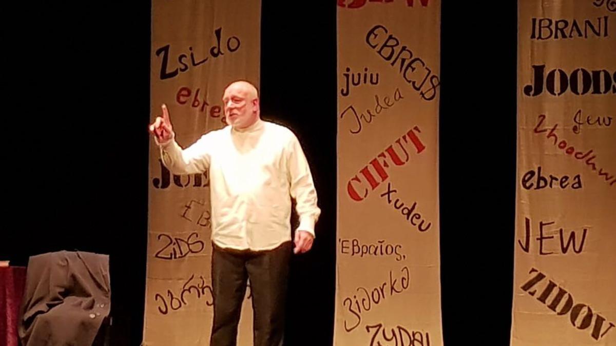 Il monologo su Shylock interpretato da Guy Masterson-Mastroianni