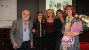 I relatori e i rappresentanti della Fondazione Scuola alla serata sui disturbi alimentari