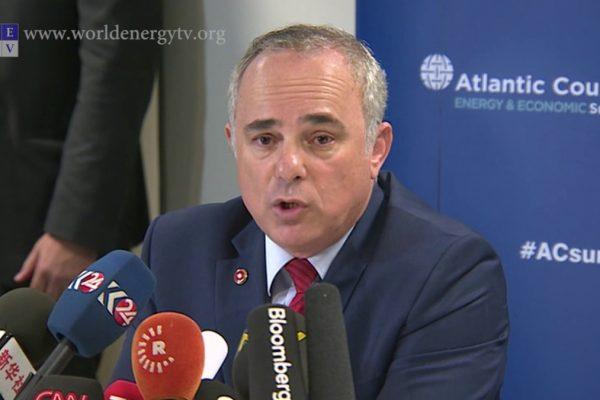 Il ministro per l'energia israeliano Yuval Steinitz