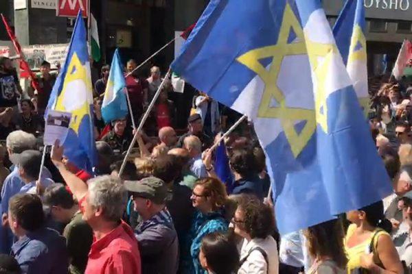 La brigata ebraica al corteo del 25 aprile 2018