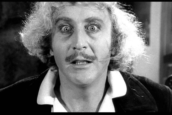 Gene Wilder nel film Frankenstein Junior