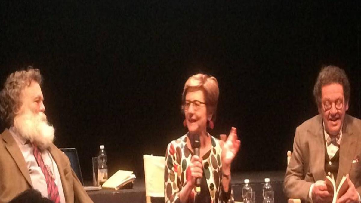 Mara Della Pergola, autrice dle libro 'Lo sguardo in movimento' su arte e Metodo Feldenkrais