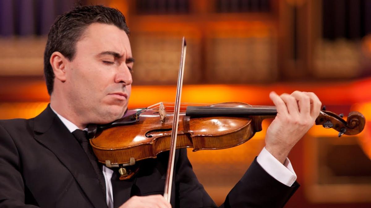 Il violinista israeliano Max Vengerov