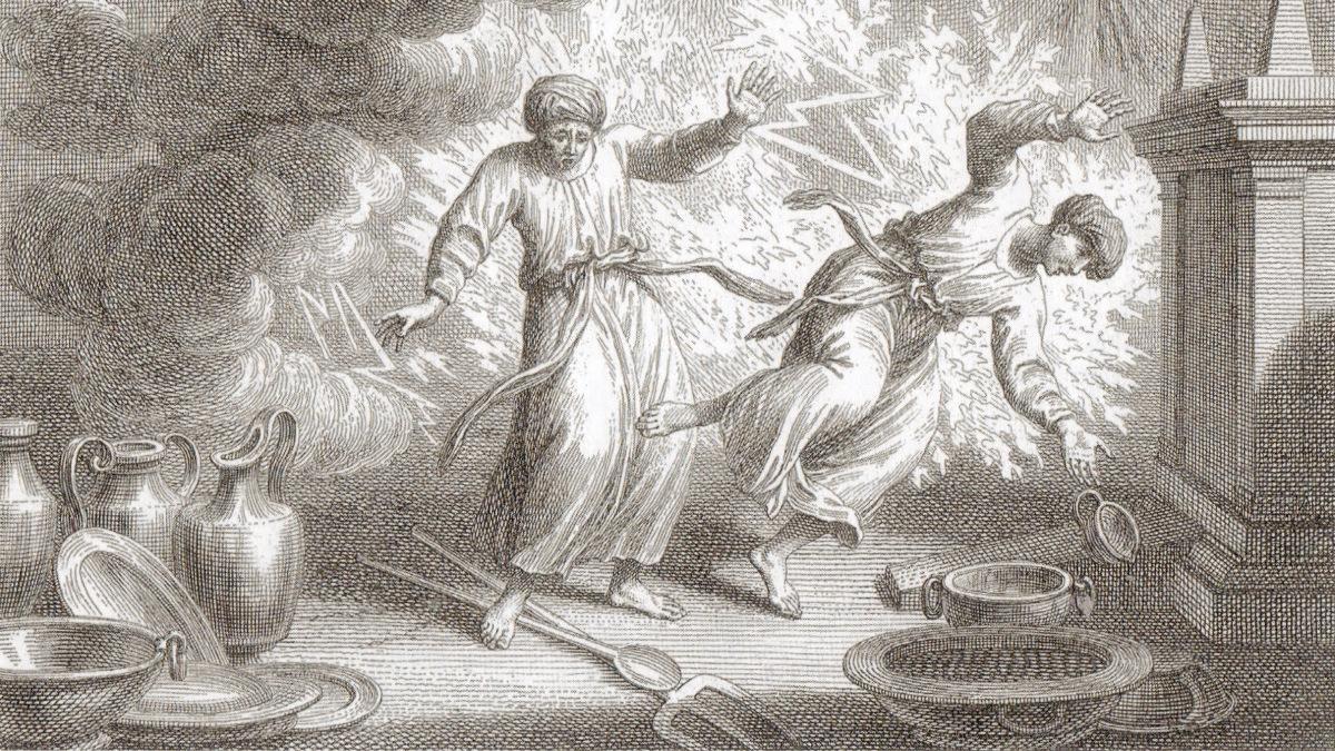 La morte dei figli di Aronne, di cui si parla nella Parashat Achrei Moth
