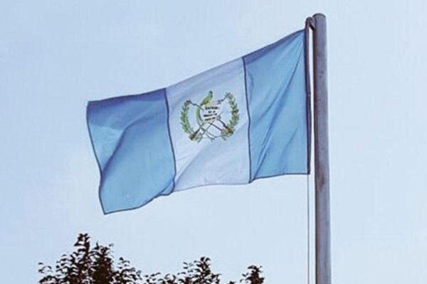 La bandiera del Guatemala