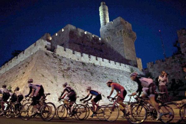Il Giro d'Italia in Israele è partito da Gerusalemme