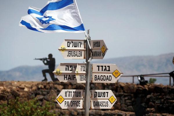 Truppe israeliane sulle alture del Golan