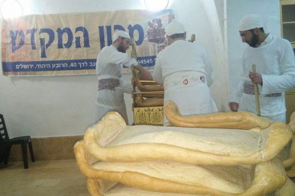 La preparazione del lechem hapanim di cui si parla nella parashat Emor