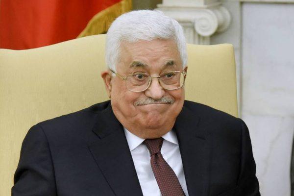 Il presidente palestinese Mahmoud Abbas