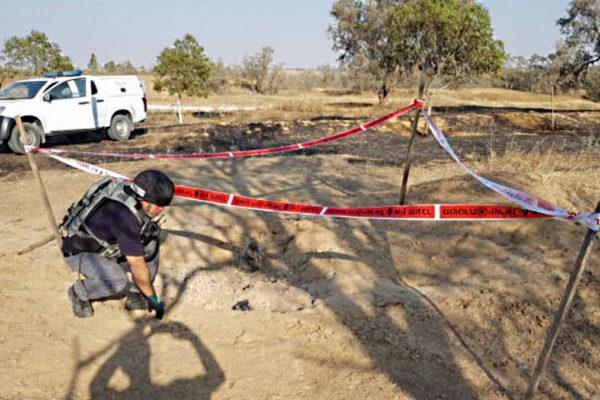 Razzi lanciati da Gaza in territorio israeliano
