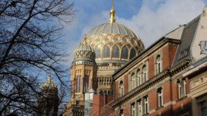 La sinagoga di Berlino, capitale della Germania