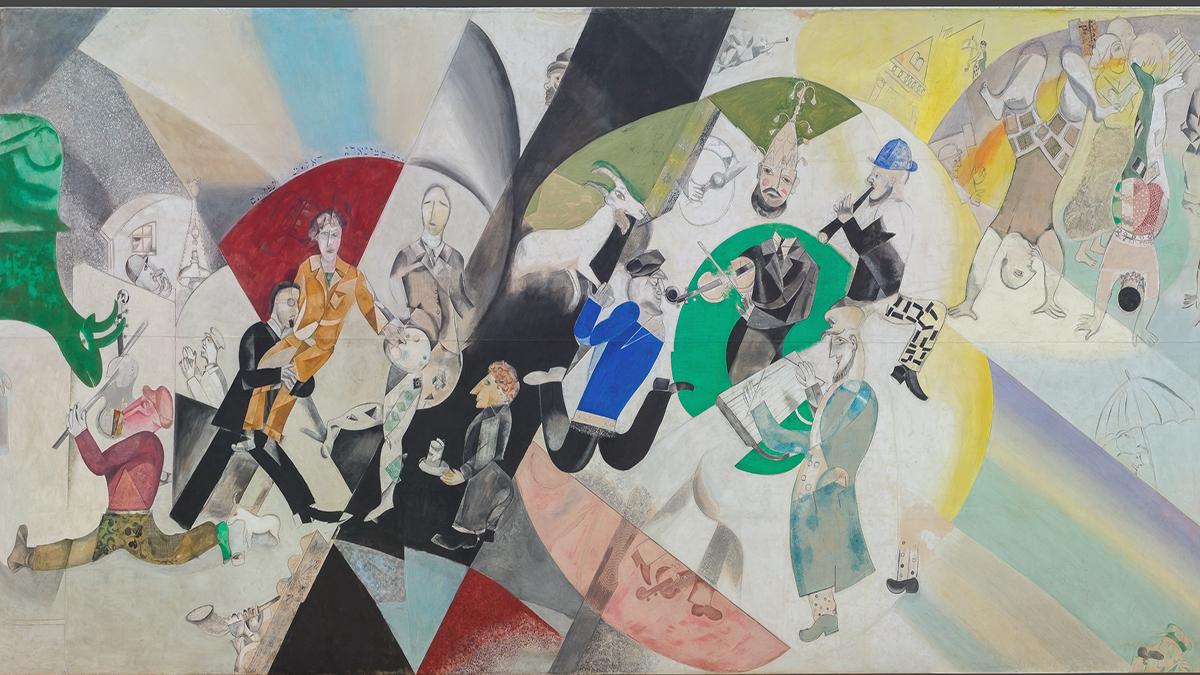 Mostra di Chagall a Mantova: una serie di capolavori, dal Teatro ...