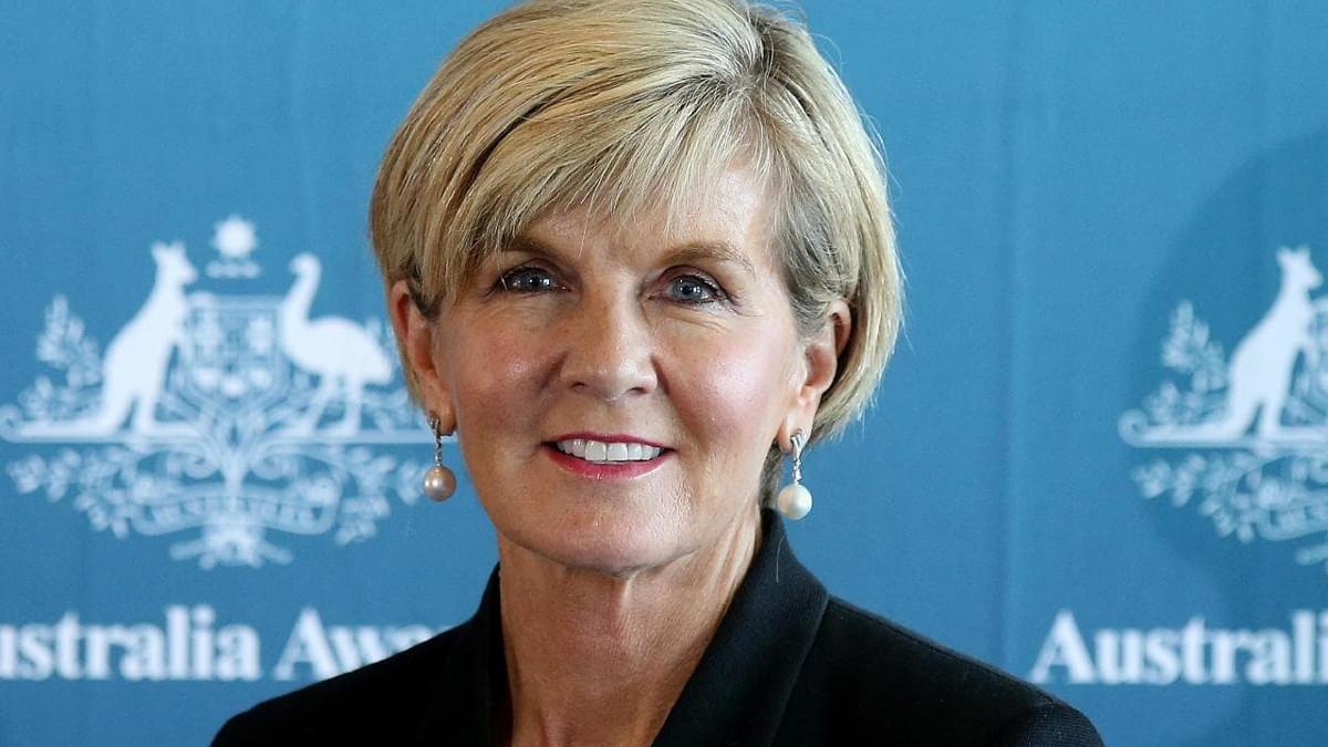 Julie Bishop, ministro australiano degli esteri, ha tagliato i finanziamenti all'Autorità Palestinese perché non vadano alle famiglie dei terroristi