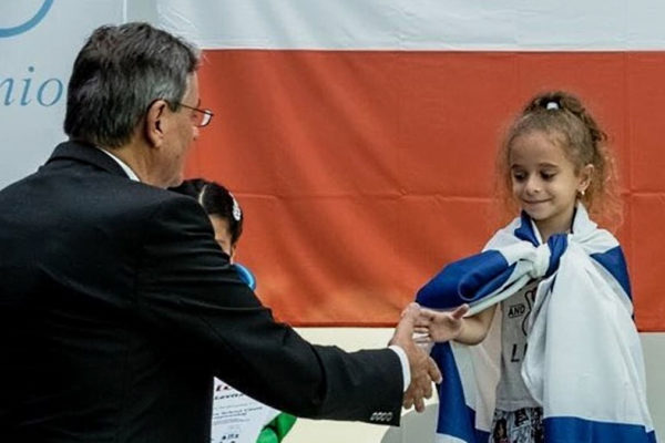 Liel Levitan, 7 anni, campionessa europea di scacchi, non pu partecipare al mondiale in Tunisia perché è israeliana