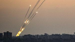 Missili da Gaza su Israele