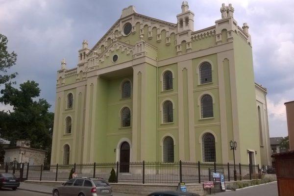La sinagoga restaurata nella città ucraina d Drohobyc
