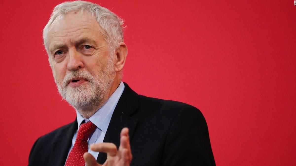 Jeremy Corbyn, leader del Labour