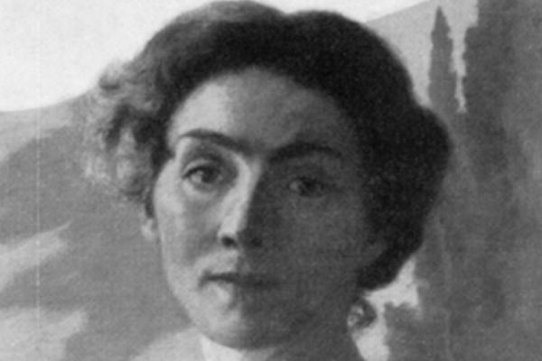 Emma Dessau,Autoritratto