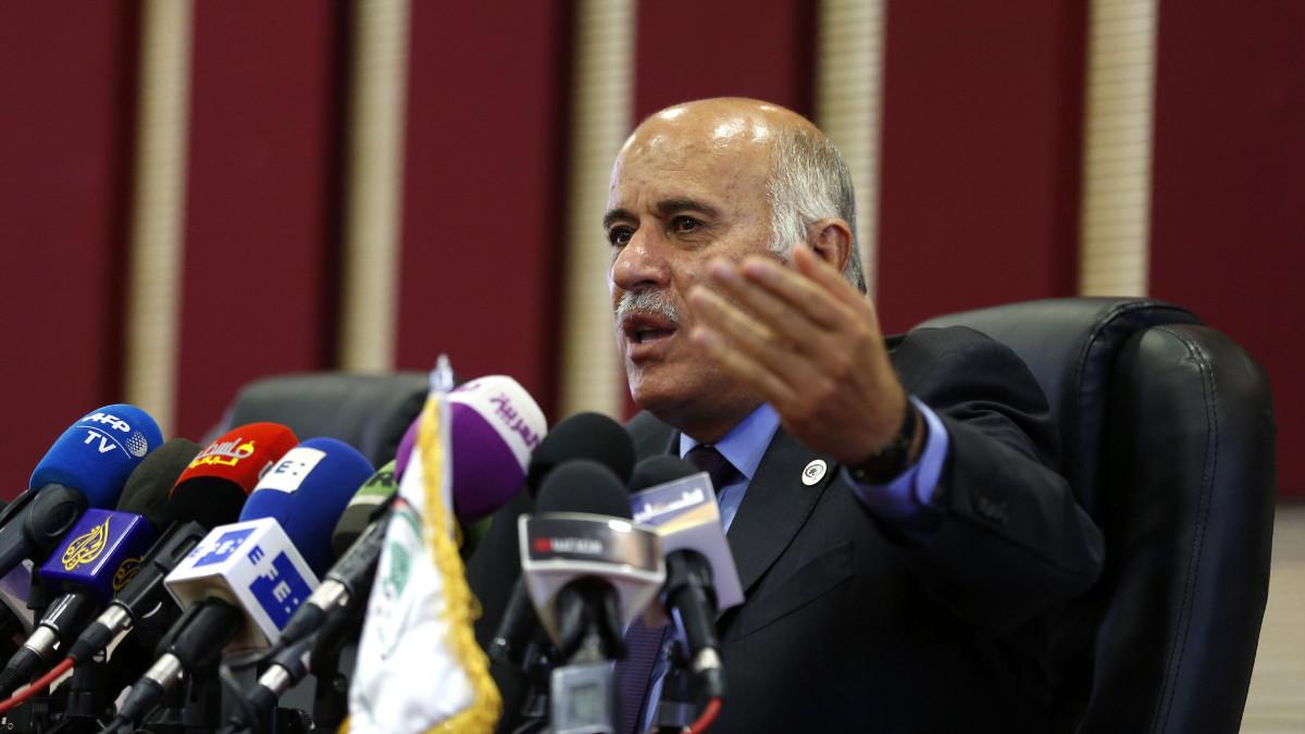 Jirbil Rajoub, capo della Federazione Calcio palestinese, sanzionato dalla FIFA