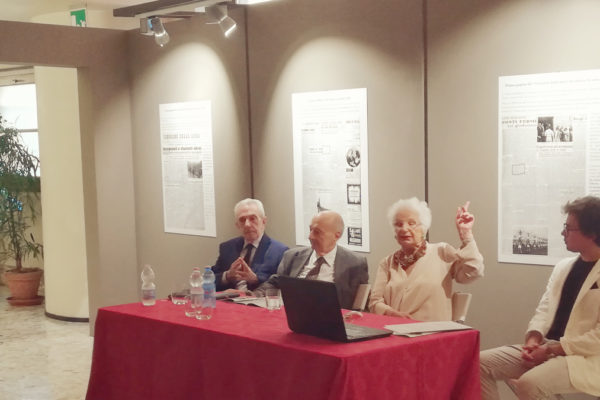 La presentazione della mostra Aldo Finzi e la musica perseguitata all'Auditorium
